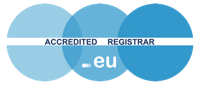 Logo Accredited registrar EURid